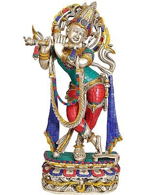 Fluting Krishna