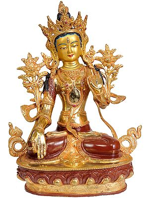 Tibetan Buddhist Deity: White Tara (From Nepal)