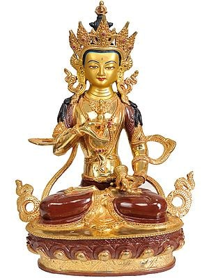 Vajrasattva - Holder of Thunderbolt and Bell (Tibetan Buddhist Deity)