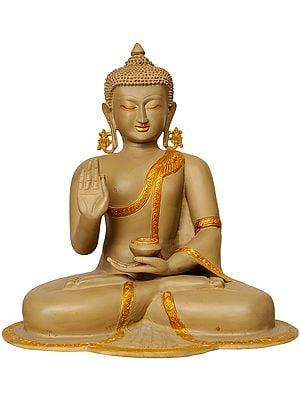 Shakyamuni Buddha Interpreting His Dharma