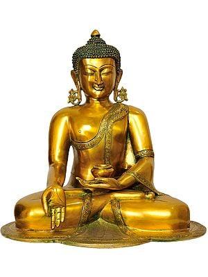 Lord Buddha in Jnana Mudra