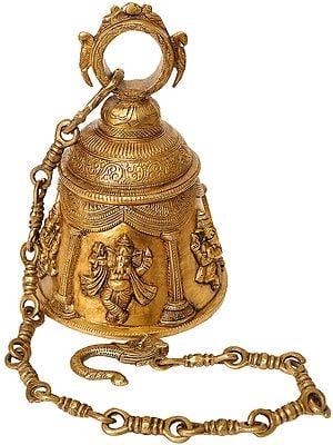 Ganesha Temple Hanging Bell