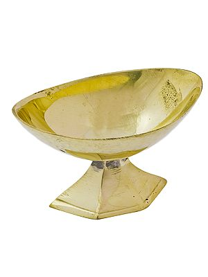 Oval Shaped Ritual Bowl