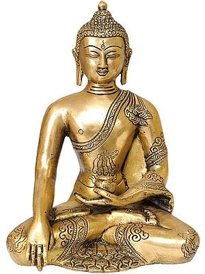 Buddha in the Bhumi-Sparsha Mudra