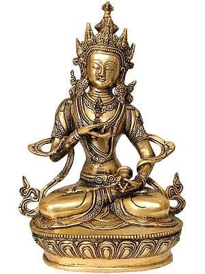 Tibetan Buddhist Deity Vajrasattva - The Divine Priest