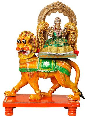 Devi with Shringar