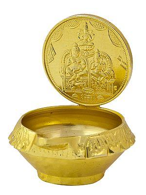 Kubera Lakshmi Puja Diya