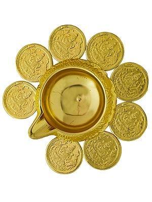Ashtalakshmi Puja Diya