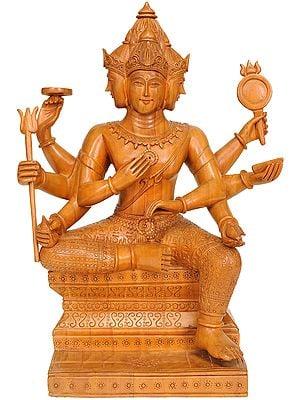 Seated Bhagawan Brahma