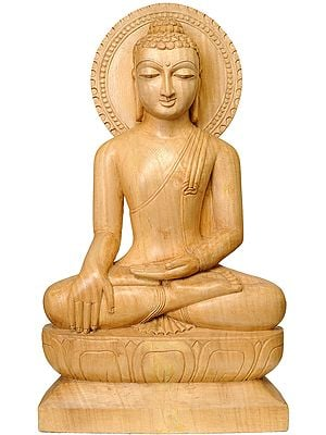 Buddha in the Bhumisparsha Mudra