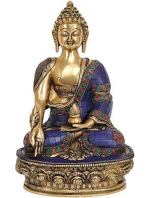 Lapis Buddha of Healing (Tibetan Buddhist Deity)