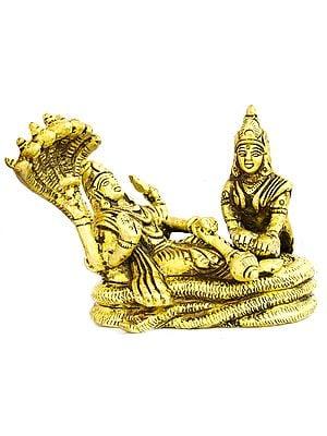 Shesh Shayi Vishnu (Small Statue)