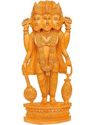 Standing Lord Brahma Ji