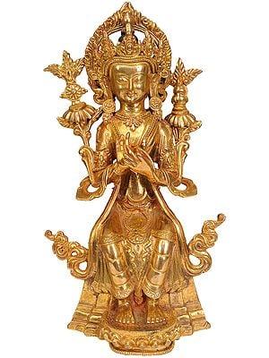 Maitreya Buddha (Tibetan Buddhist Deity)