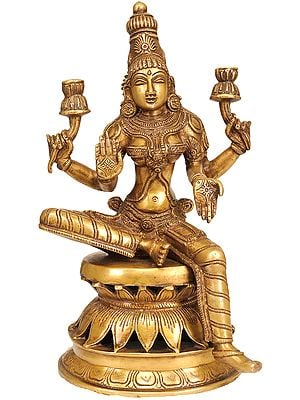 Goddess Lakshmi as Visualized in the Atharva Veda