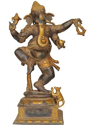 Large Size Dancing Ganesha