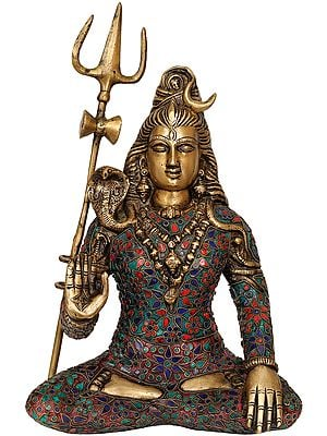 Bhagawan Shiva with Trident
