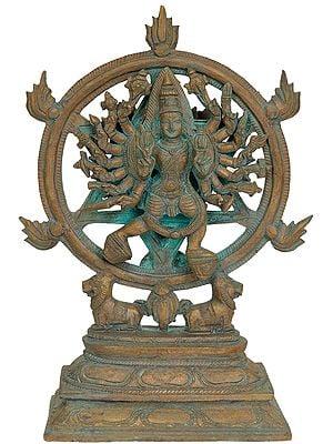 Sudarshana Purusha, The Embodiment of Bhagawan Vishnu's Chakra