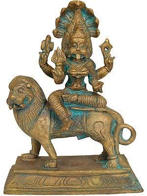 Goddess Pratyangira: A Bronze-cast from Swamimalai