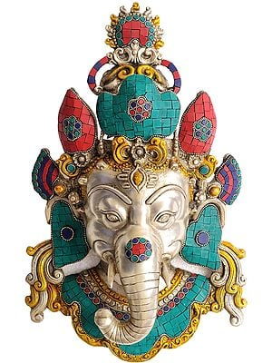 Ganesha Wall Hanging Mask
