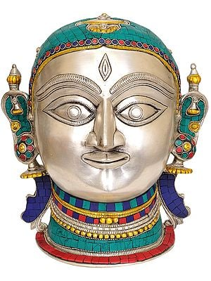 Goddess Parvati Mask from Himachal