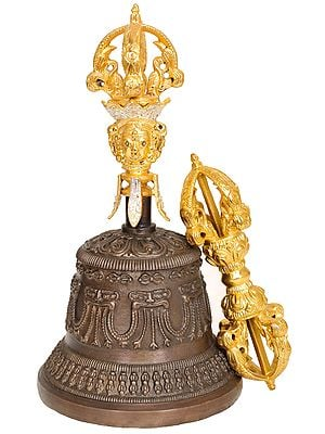 Tibetan Buddhist Bell and Dorje