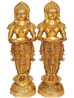 (Large Size) Pair of Deeplakshmi