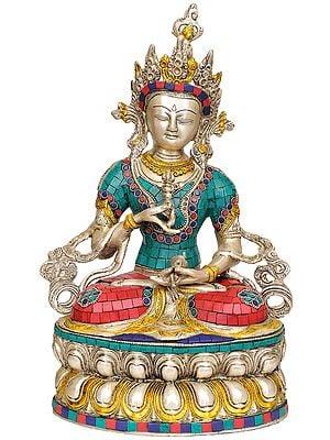 Tibetan Buddhist Deity Vajrasattva The Divine Priest