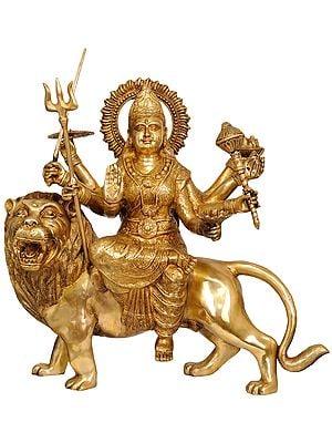 Large Size Ashta-Bhuja-Dhari Durga
