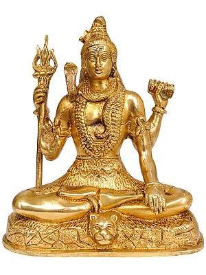 Seated Bhagawan Shiva