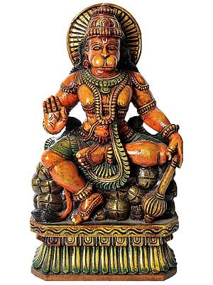 Seated Bhagawan Hanuman