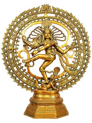 Large Size Nataraja With Om