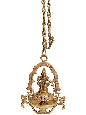 Ayyappan Temple Hanging Lamp