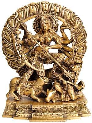 Ten-Armed Mahishasuramardini Goddess Durga