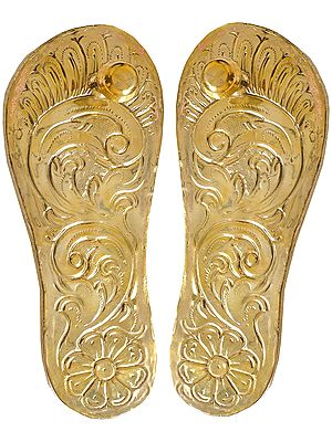 Charan Paduka (Khadau) - Sandals for Auspicious Occassions