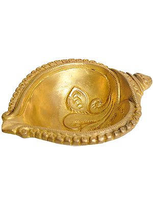 Conch Shaped Big Puja Diya