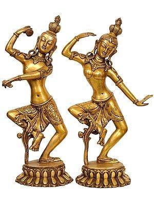 Dancing Shiva-Parvati