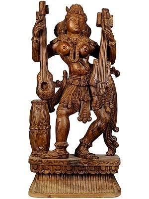 Large Size Yakshi, The Celestial Dancer
