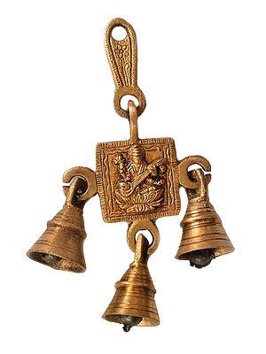 Goddess Saraswati Hanging Bells