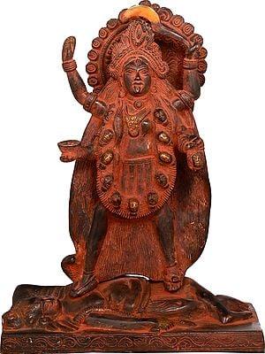 Kali as Bhairavi