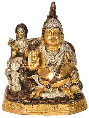 Bhagawan Kubera with Lakshmi