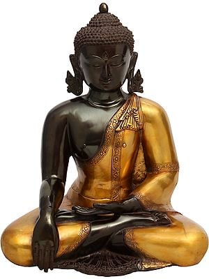 Lord Buddha in Bhumisparsha Mudra (Earth Touching Gesture)