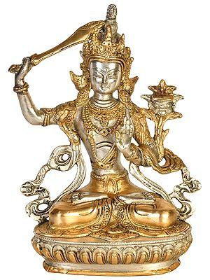 Tibetan Buddhist Deity, The Unyielding Manjushri