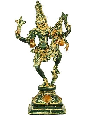 Narasimha, With His Lakshmi, Crushed The Snake