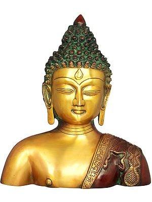 Buddha Bust - Tibetan Buddhist Deity