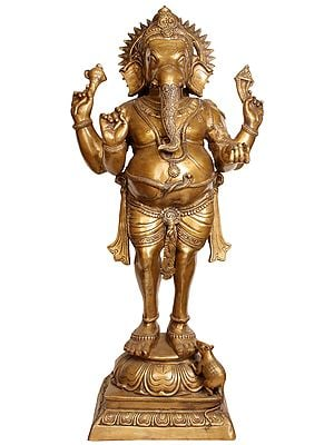 An Unconventional Image Of Lord Ganesha
