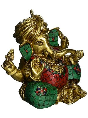 Blessing Inlay Ganesha