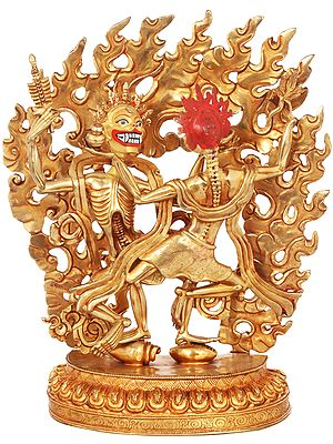 The Citipati- The Master of the Cemetery (Tibetan Buddhist) Made in Nepal