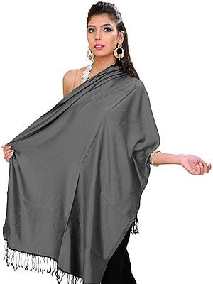 Plain Double-Sided Super-Silk Stole