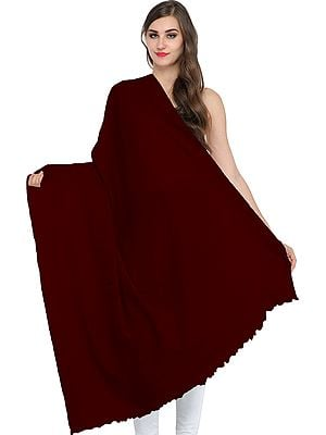 Plain Handloom Pure Pashmina Shawl